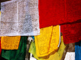 Prayer Flags, Jokhang Temple, Lhasa, Tibet, China Photographic Print by Anthony Plummer