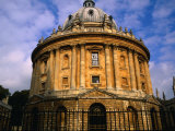 The Radcliffe Camera, Circular Library Built in 1748 on the Grounds of Oxford University, England Photographic Print by Glenn Beanland
