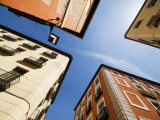 Street Corner in the Lavapies Neighbourhood, Madrid, Comunidad de Madrid, Spain Photographic Print by Krzysztof Dydynski