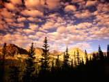 Peaks and Sky from Diamond Lake Trail, Indian Peaks Wilderness, Colorado Photographic Print by Witold Skrypczak