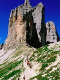 Passo Lavaredo, Dolomiti di Sesto Natural Park, Italy Fotografie-Druck von John Elk III