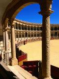 Plaza de Toros, Ronda, Andalucia, Spain Fotografisk tryk af John Elk III