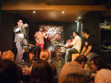 Flamenco Jam Session at Cardamomo, Madrid, Comunidad de Madrid, Spain Photographic Print by Krzysztof Dydynski