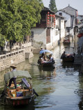 Ancient Waterways, Zhouzhuang, Jiangsu, China Photographic Print by Greg Elms