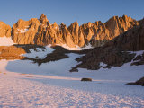 Mt. Whitney and Eastern Ramparts of High Sierra at Sunrise, California Photographic Print by Brent Winebrenner