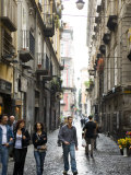Street in Centro Storico, Naples, Campania, Italy Photographic Print by Greg Elms