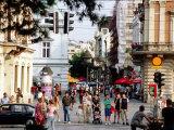 Pedestrian Area of Knez Mihailo, Belgrade, Serbia Photographic Print by Roberto Gerometta