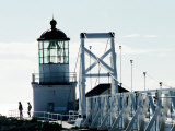Pt Bonita Lighthouse at Marin Headlands, Marin County, California Photographic Print by John Elk III