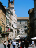 Piazza 4 Novembre, Perugia, Umbria, Italy Photographic Print by John Elk III