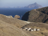 National Park Service Complex, Santa Cruz Island, California Photographic Print by Brent Winebrenner