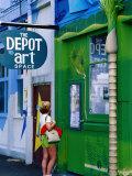 The Depot Art Gallery, Auckland, New Zealand Photographic Print by Richard Cummins