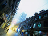 Shanghai Street, Shanghai, China Photographic Print by Ray Laskowitz