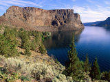 Lake Billy Chinook, Cove Palisade Sp, Deschutes National Forest, Oregon Photographic Print by John Elk III