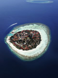 Kurumba Island, North Male Atoll, Kaafu, Maldives Photographic Print by Felix Hug