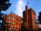 Fisher Fine Arts Library, University of Pennsylvania, Philadelphia, Pennsylvania Fotografisk tryk af Margie Politzer