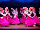 Dancers Performing at Korea House, Myeong-Dong, Seoul, South Korea Photographic Print by Anthony Plummer
