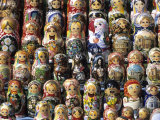 Matrioshka Dolls, Ukraine, Odessa Photographic Print by Holger Leue