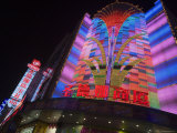 Neon Lights on Nanjing Lu, Shanghai, China Photographic Print by Greg Elms