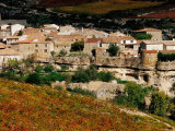 Minerva Town and Vineyards, Minerve, Languedoc-Roussillon, France Photographic Print by Oliver Strewe