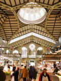 Valencia's Modernista Covered Market, La Seu and El Mercat, Valencia, Spain Photographic Print by Greg Elms