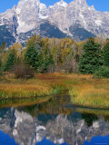 Grand Teton Reflection, Grand Teton National Park, Wyoming Photographic Print by Holger Leue