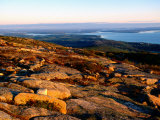 Cadillac Mountain Summit, Early Morning, Acadia National Park, Maine Photographic Print by John Elk III