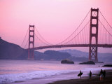 Golden Gate Bridge, San Francisco, California Photographic Print by Mark Newman