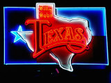 Neon Sign, Billy Bob's Texas Honky Tonk, Fort Worth, Texas Photographic Print by Holger Leue
