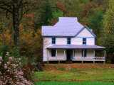 Caldwell House, Cataloochee, Great Smoky Mountains National Park, Tennessee Photographic Print by John Elk III
