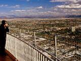 Viewing Deck of Stratosphere Tower, Las Vegas, Nevada Photographic Print by Richard Cummins