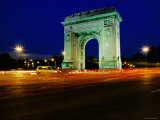 Triumphal Arch at Dusk, Bucharest, Romania Photographic Print by Richard I'Anson