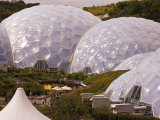 The Three Biomes of the Eden Project, St. Austell, Cornwall, England Photographic Print by Glenn Beanland