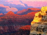 Grand Canyon from South Rim at Hopi Point, Grand Canyon National Park, Arizona Photographic Print by David Tomlinson