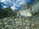 Ruins at Ancient Inca City, Machu Picchu, Cuzco, Peru Photographic Print by Richard I'Anson
