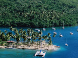 Marigot Bay, St. Lucia Photographic Print by Holger Leue