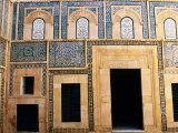 Classic Courtyard House at Dar Jellouli Museum, Medina, Sfax, Sfax, Tunisia Photographic Print by Ariadne Van Zandbergen