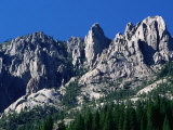Castle Crags from South, California Photographic Print by John Elk III