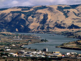 Dalles Town, Columbia River Gorge, Oregon Photographic Print by John Elk III
