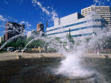 Spring Fountain, Portland, Oregon Photographic Print by John Elk III