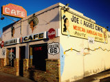 Joe and Aggies Cafe, Route 66, Holbrook, Arizona Fotografisk tryk af Witold Skrypczak