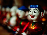 Traditional Water Puppets, Hanoi, Vietnam Photographic Print by Anthony Plummer