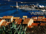 Harbour and Waterfront Buildings in Foreground, Sete, Languedoc-Roussillon, France Photographic Print by Oliver Strewe