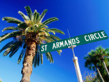 Sign in St. Arnaud's Key, Sarasota, Florida Photographic Print by David Tomlinson