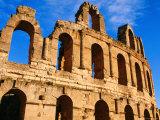 Amphitheatre at Colosseum of El-Jem, El-Jem, Mahdia, Tunisia Photographic Print by Ariadne Van Zandbergen