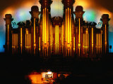 Mormon Tabernacle Organ, Temple Square, Salt Lake City Photographic Print by Holger Leue