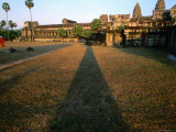 Angkor Wat Is Largest, Best Preserved of Angkor's Monuments, Angkor, Siem Reap, Cambodia Photographic Print by Stu Smucker