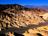 Zabriskie Point, Badlands, Death Valley National Park, California Photographic Print by John Elk III
