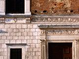 Architectural Detail, Vespa, Urbino, Marche, Italy Photographic Print by John Elk III