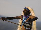 Intore Dancer Performing, Rwanda Photographic Print by Ariadne Van Zandbergen