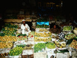 Multitude of Fresh Produce to Choose from at the Khyber Bazaar, Peshawar, Pakistan Photographic Print by Richard I'Anson
